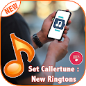Set caller tune new ringtone icon