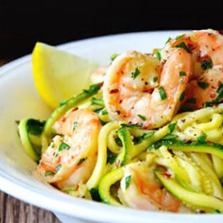 White Wine Zucchini Shrimp Recipes