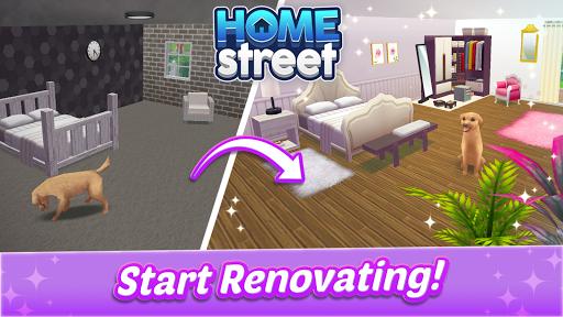 Home Street u2013 Home Design Game apktram screenshots 7