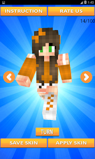 Girl Skins for Minecraft - náhled