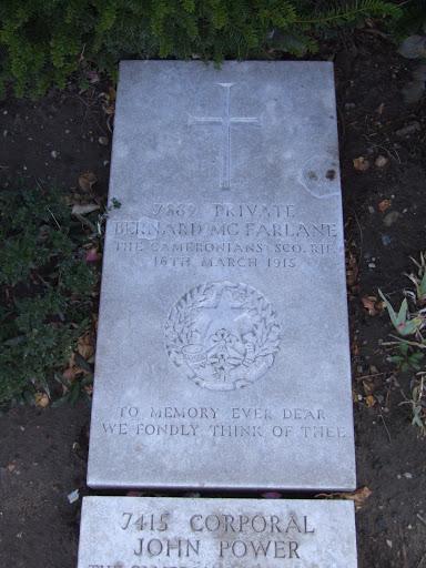 Bernard McFarlane grave
