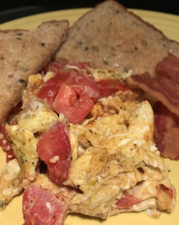 Balbuljata (maltese Scrambled Eggs) Recipe