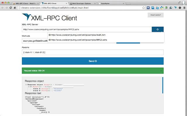 XML-RPC Client