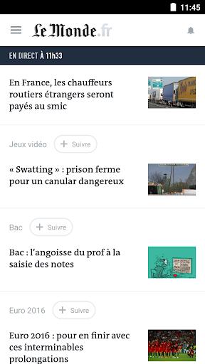 Le Monde, l'info en continu v8.0.3 [Subscribed]