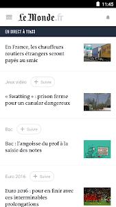 Le Monde, l'info en continu 8.5.6 (Subscribed)