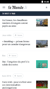 [Download Le Monde, l'info en continu for PC] Screenshot 1
