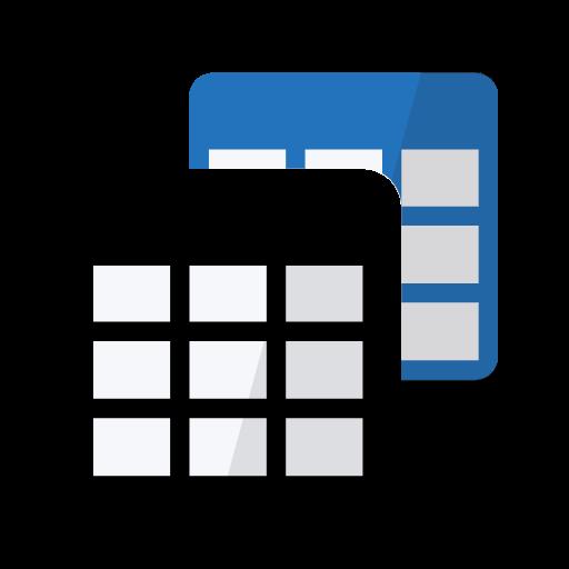 Table Notes - Pocket database & spreadsheet editor Icon