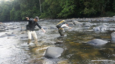 Photo: Crossing River