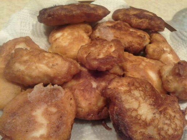 For chicken  In the 1 cup milk add the vinegar and set aside 10 minutes....