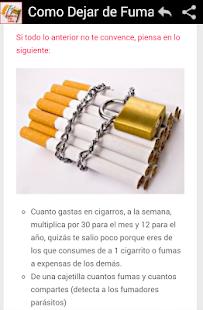 Deja a fumar y gana la acción