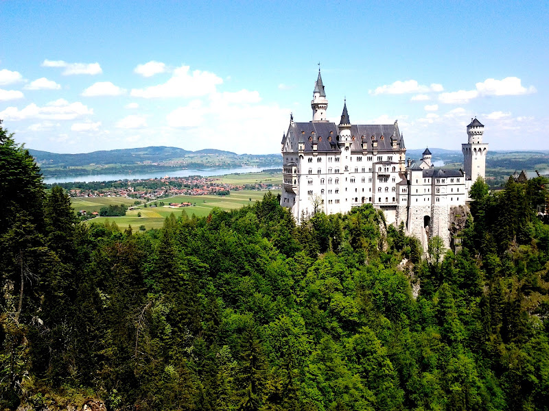 Castello di Neuschwanstein di towerofbear