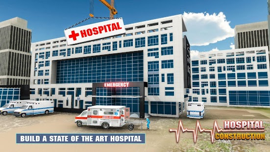Hospital building construction games city builder android apps hospital building construction games city builder screenshot thumbnail malvernweather Images