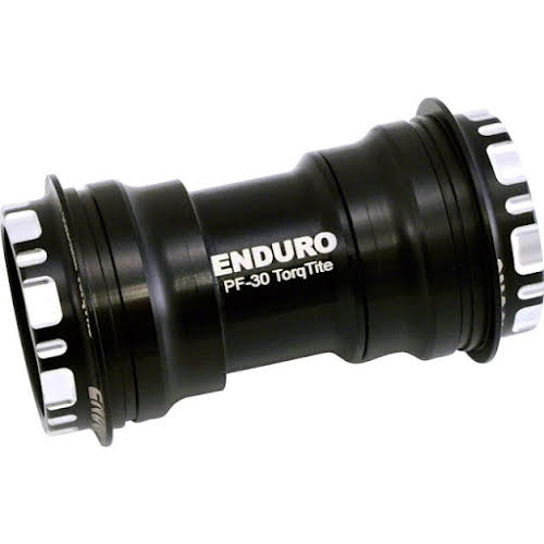 Enduro TorqTite Bottom Bracket PF30 to 24mm Stainless Bearings