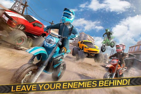 Free Motor Bike Racing - Fast Offroad Driving Game - náhled