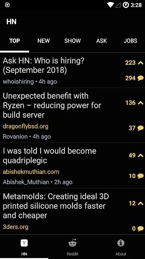 Hacked.It - Tech News Reader 1.1 Screenshots 1