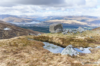 Photo: Fort William from Meall Beag, Aonach Mor
