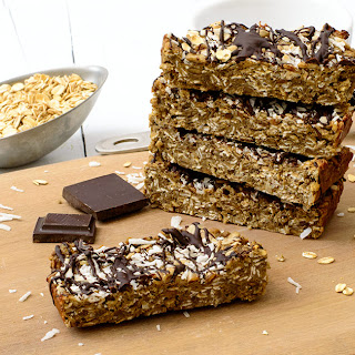 Vegan Coconut Oatmeal Bars
