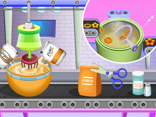 Donuts Cooking Factory: Baking Dessert in Kitchen android2mod screenshots 9