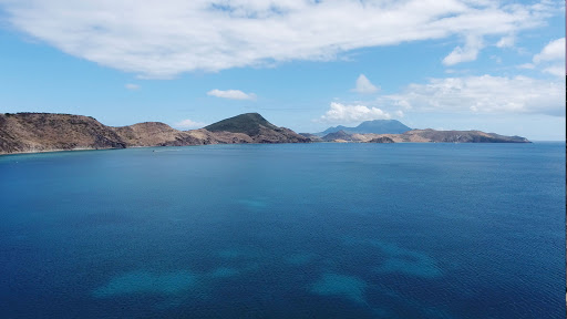 drone-frigate-bay-st-kitts.jpg - The aquamarine waters of Frigate Bay in St. Kitts (drone photo).