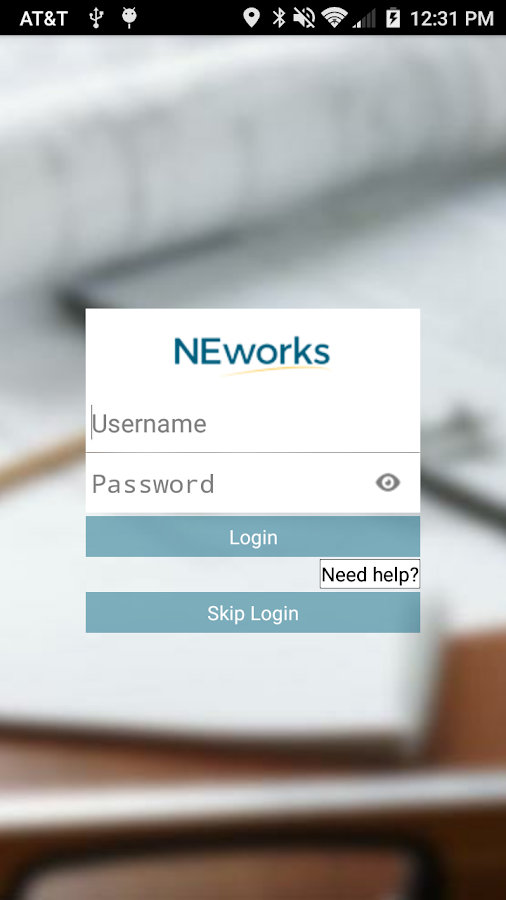 NEworks- screenshot