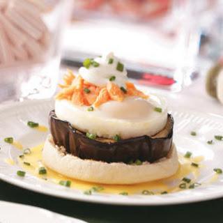 Eggplant Eggs Benedict.