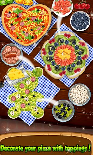 Code Triche Pizza Chef - jeu mignon de pizzaiolo APK Mod screenshots 1