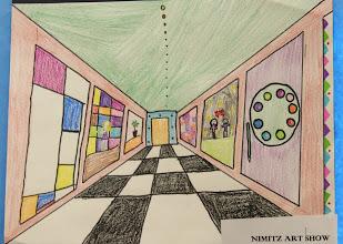 Photo: Art show Grade 4