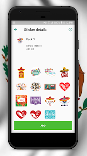 Stickers de México para Whatsapp (WAStickerApps) Screenshot