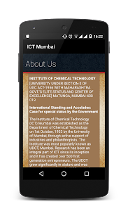 ICT Mumbai Website App- screenshot thumbnail