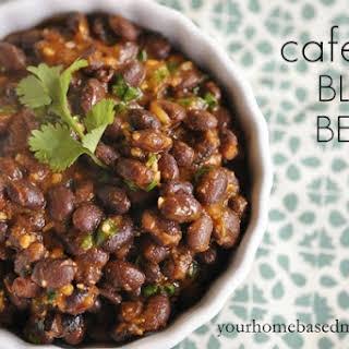 Cafe Rio Black Beans.