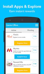 Genie Reward App