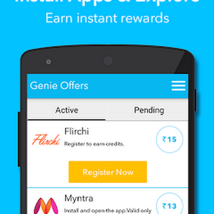 Genie Reward App Tricks - Rs 10 on Signup | Refer and Earn Rs 10 Redeem as Free Recharge