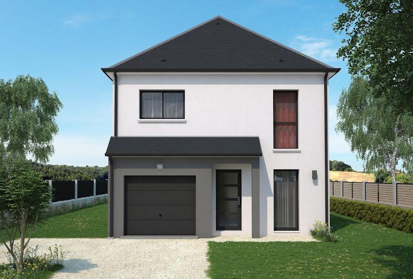 Vente Terrain + Maison - Terrain : 587m² - Maison : 90m² à Chargé (37530)