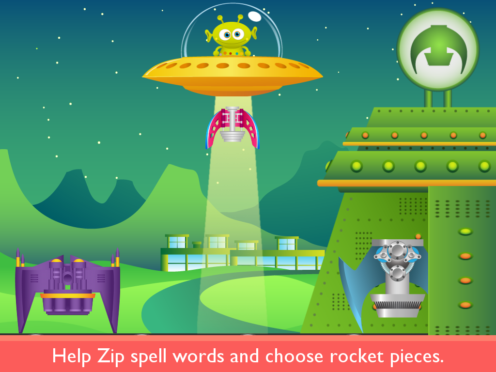 Rocket Speller PLUS- screenshot