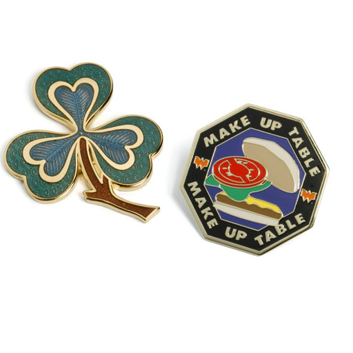 Pin Badge in Hard Enamel