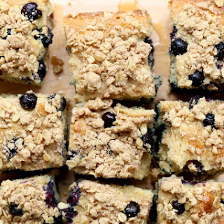 Gluten-Free Lemon Blueberry Coffee Cake