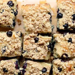 Gluten-Free Lemon Blueberry Coffee Cake.