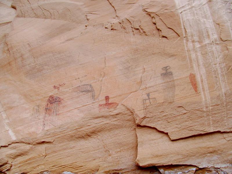Photo: Bartlett Flat pictographs
