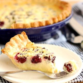 Blackberry Buttermilk Pie with Cardamom