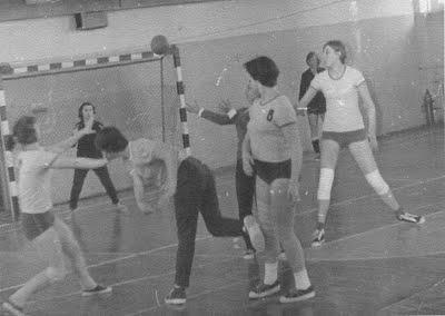 Група спортивного удосконалення з ганболу (I960 р.)