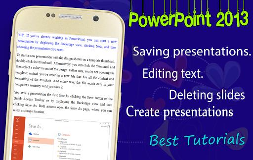 Learn MS PowerPoint 2013
