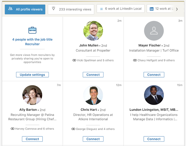 LinkedIn Premium Profile Views