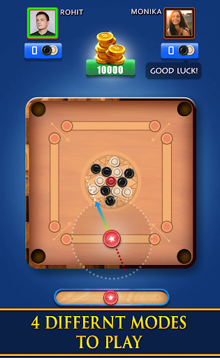Carrom Royal - Multiplayer Carrom Board Pool Game screenshots 1