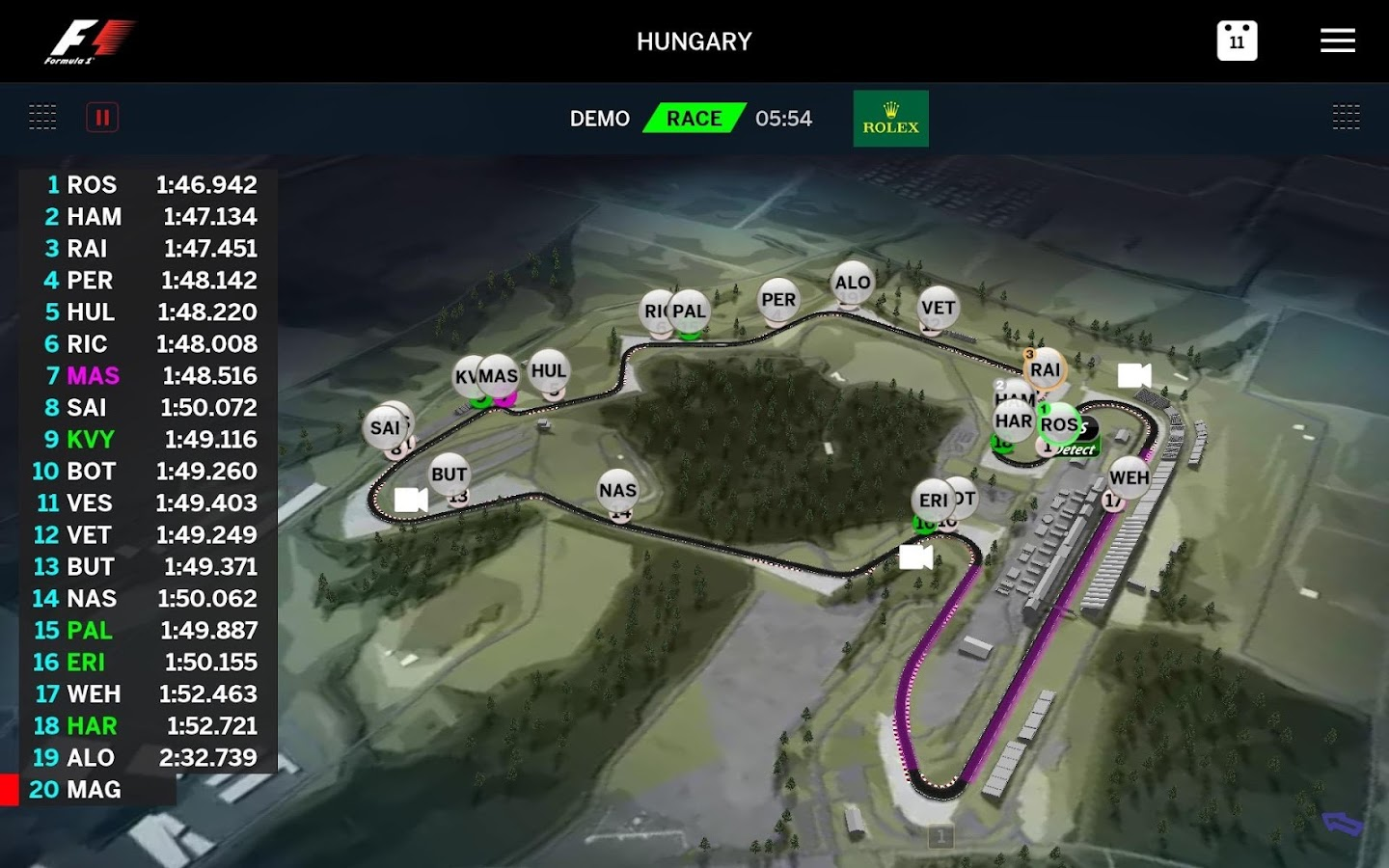 Official F1 ® App- screenshot