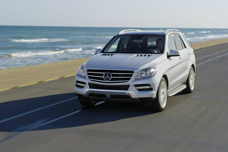 """Photo: What do we mean by """"clean diesel?"""" The 3.0-liter BlueTEC clean diesel V-6 reduces smog-causing NOx, converting much of these emissions into harmless nitrogen and water vapor. All the while, this BlueTEC engine delivers a massive 455 lb-ft of torque, a cruising range of over 600 miles, acceleration as quick as its gasoline counterpart, and better highway mileage than many 4-cylinders and hybrids.   Learn more: http://mbenz.us/KlgPw9  European model shown."""