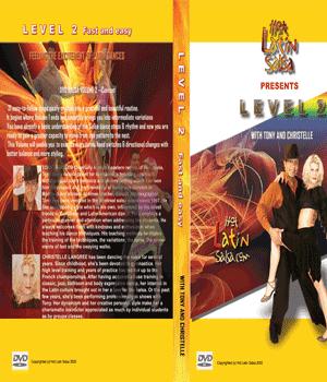 dvd Salsa niveau 2