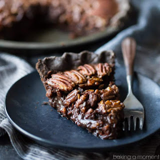 Double Chocolate Pecan Pie.