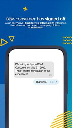 BBM - No longer available  screenshots 1