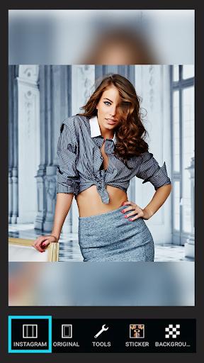 Instasquare Photo Editor screenshot 4