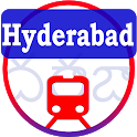 Hyderabad Metro, MMTS Trains, RTC Bus Timetable icon